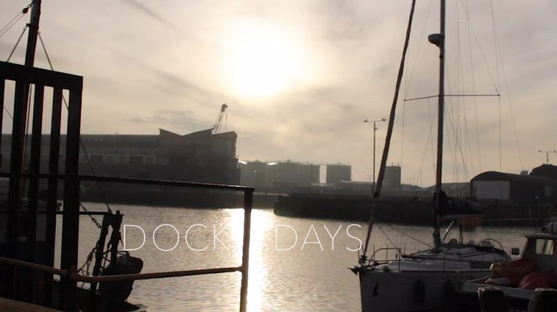 Dock Days GMIT Student Film This Port of Galway Harbour