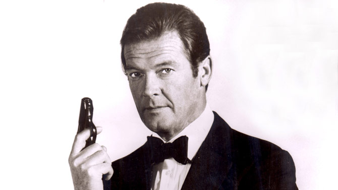 Sir Roger Moore 007 North Sea Hijack Port of Galway Harbour