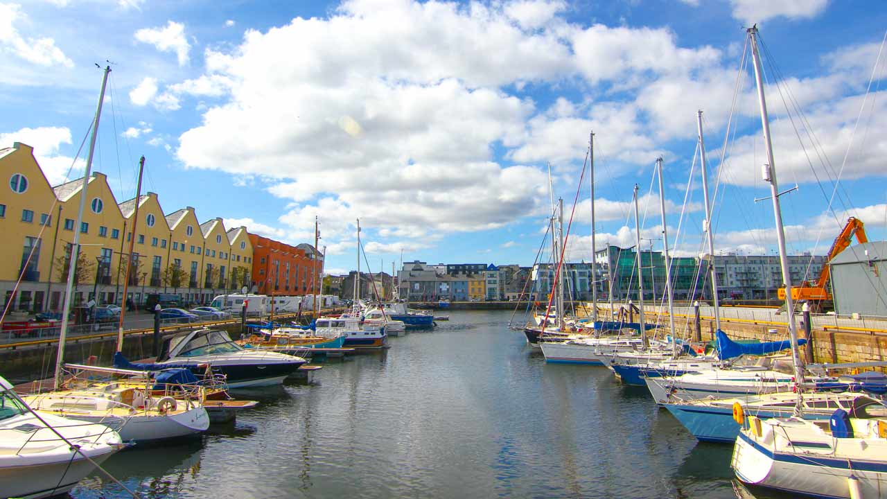 Galway Marina - Wild Atlantic Way