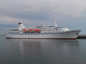 The Port of Galway Ocean Majesty Cruise Ship | Photo: Pjotr Mahhonin
