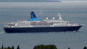 The Port of Galway Saga Pearl II Cruise Ship | Photo: Ivan T.