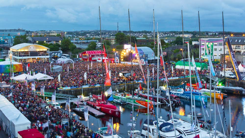 Volvo Ocean Race Maritime Tourism Benefits of the New Port of Galway Redevelopment