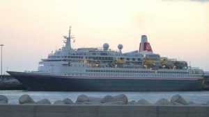 The Port of Galway Black Watch Cruise Ship