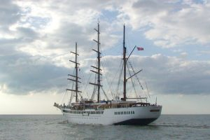 The Port of Galway Sea Cloud II